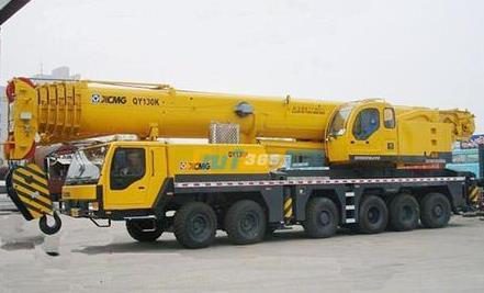 嘉兴130吨汽车吊出租车辆展示